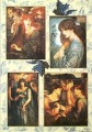 Papier do decoupage, Rossetti